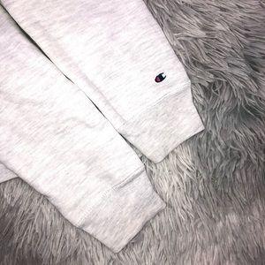Champion Tops - Champion Reverse Weave GRACE Gray Sweatshirt M